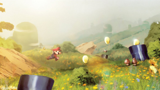 Mario World by *Orioto on deviantART