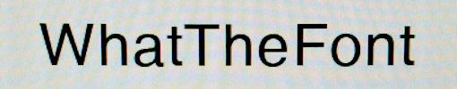 Helvetica。