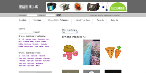 iPhone Images: All | Pixelgirl Presents - Only The Coolest Desktops, Icons, iPhone & iPad Wallpapers!