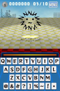 アルファベットや記号で構成されたモンスターなんだ!