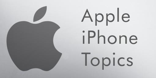 Apple iPhone 関連のニュースまとめ。