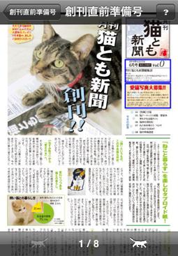 猫とも新聞。