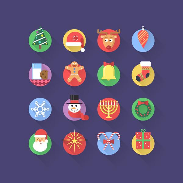 クリスマスにピッタリのアイコンセット2