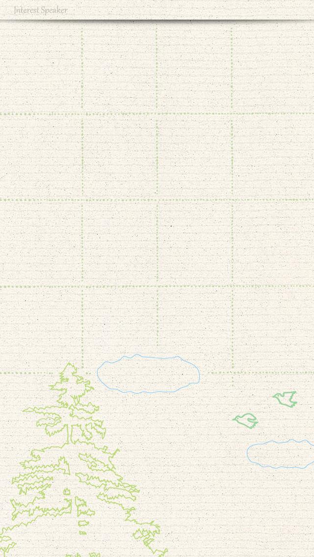 fancy01,bird iPhone 5 ホーム画面用壁紙
