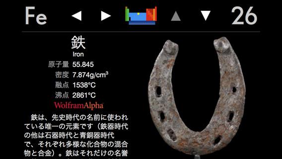 鉄についての説明。