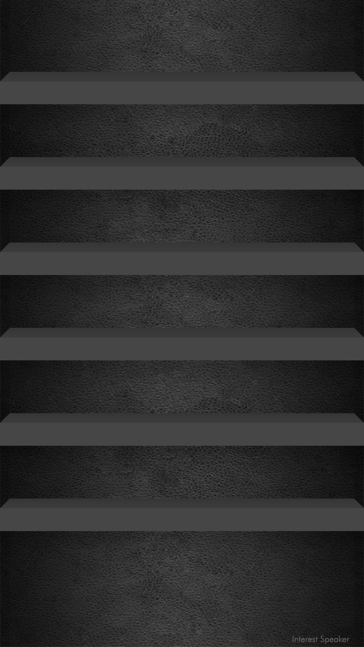 Iphone 6 ホーム画面用 750 1334px 棚っぽい壁紙 配布 Interest Speaker