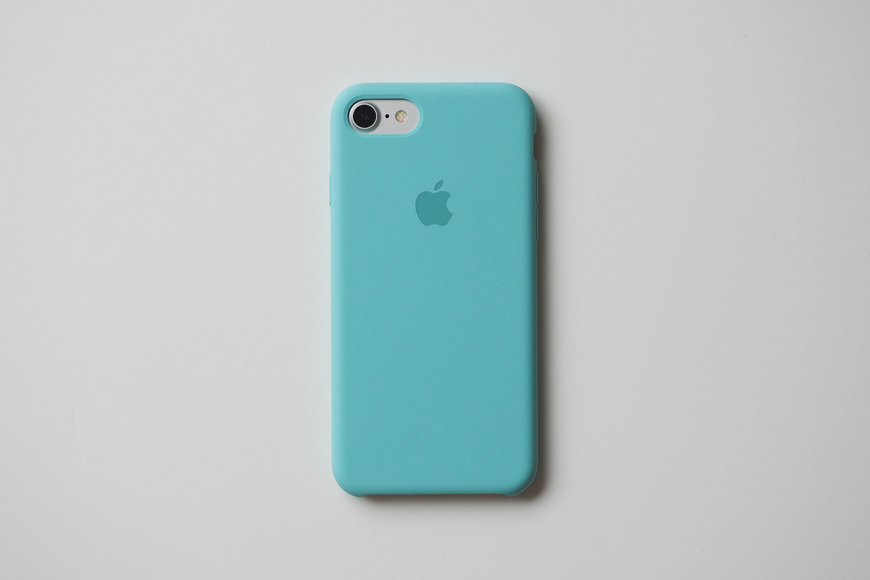 iPhone 7 シリコーンケース装着時 背面。