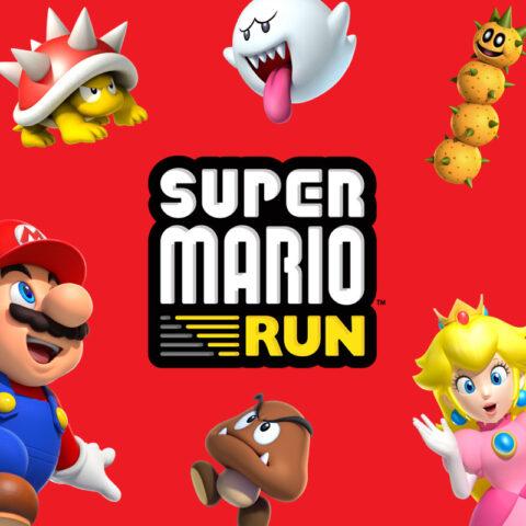 iOS向けゲームアプリ『SuperMarioRun』リリース!