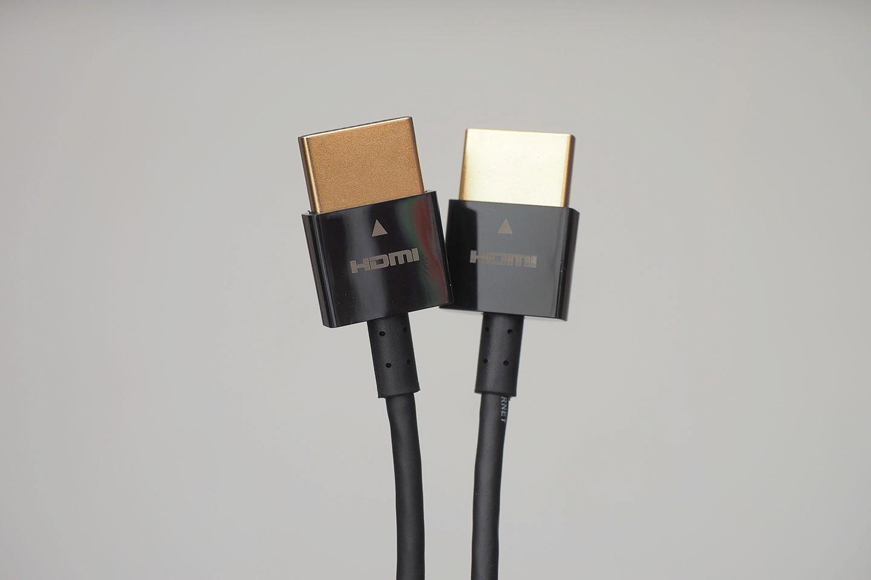 エレコム ハイスピードHDMIケーブル 2m スリム CAC-HD14SS20BK