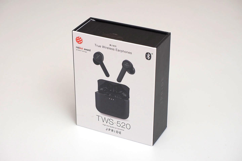 JPRiDE_TWS-520の外箱