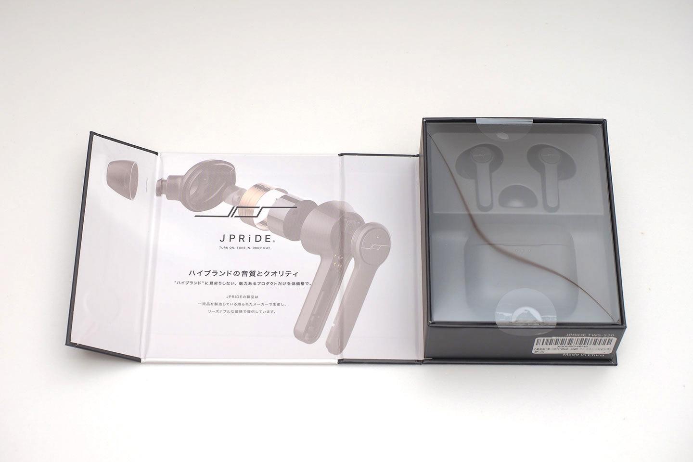 JPRiDE_TWS-520の外箱開封