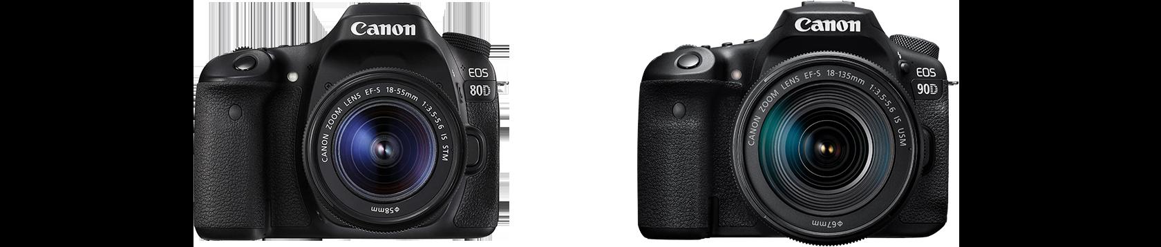 ポリカーボネートボディ採用の EOS 80D と EOS 90D