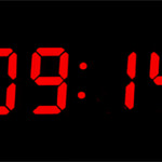 中の人が頑張るアナログなデジタル時計「Analog Digital Clock」。