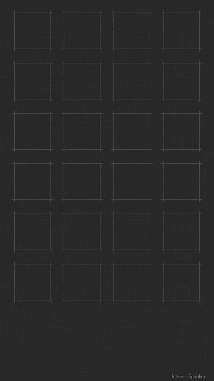 Iphone 6 ホーム画面用 750 1334px 棚っぽい壁紙 配布 Interest