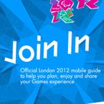 ロンドンオリンピック公式アプリ。